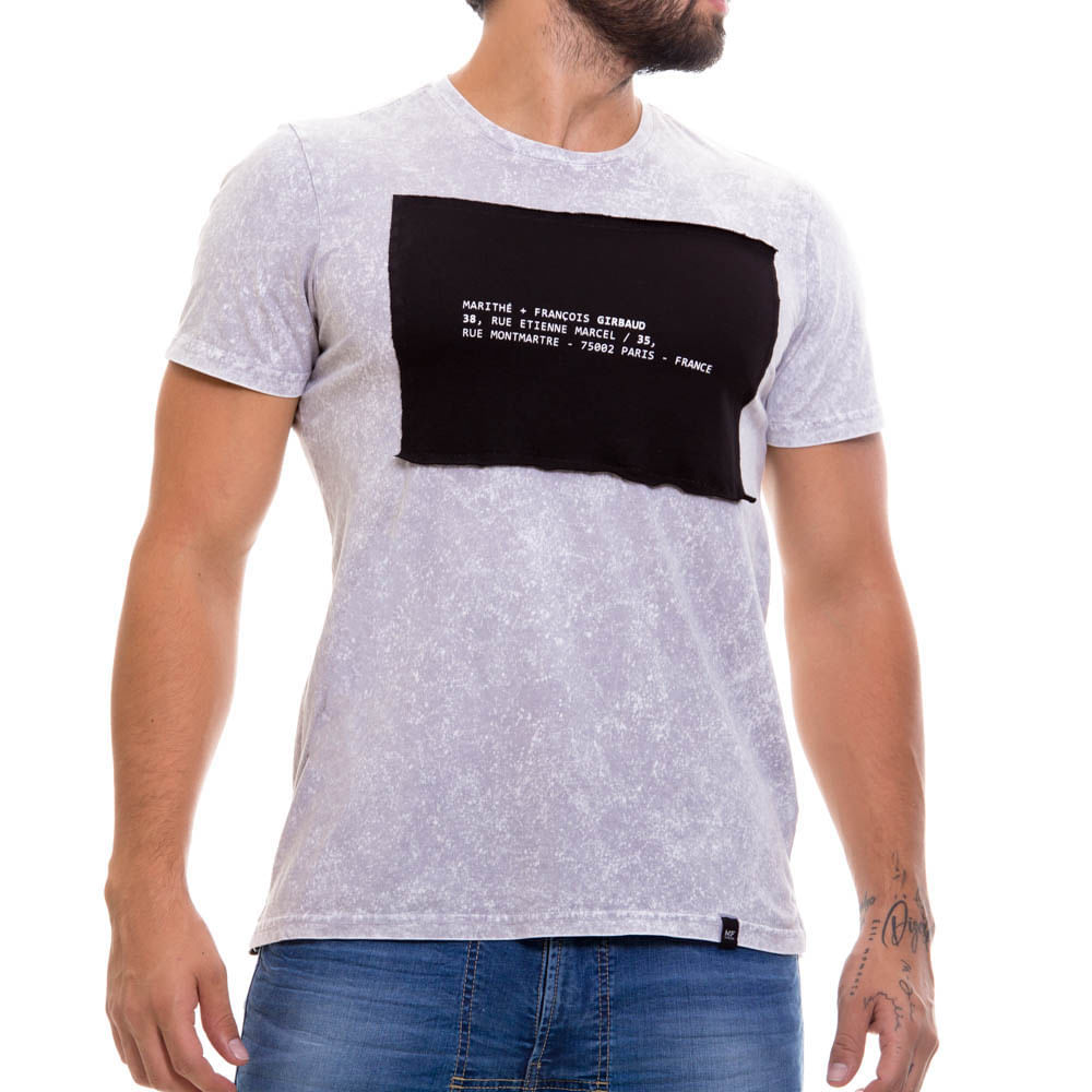 4a77371c49 Camiseta Para Hombre Marithe Francois Girbaud 12022