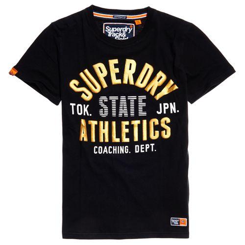 Camiseta-Para-Hombre-Track---Field-Lite-Metallic-Superdry