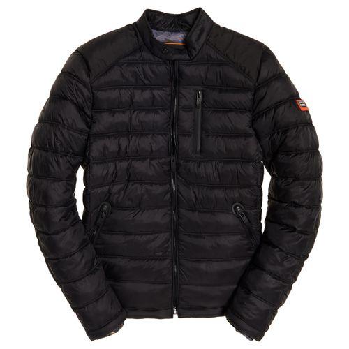 chaqueta para hombre commuter quilted biker superdry
