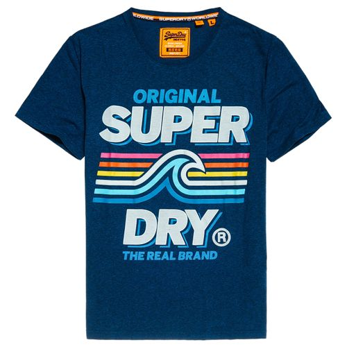 Camiseta-Para-Hombre-Malibu-Mid-Weight-Tee-Superdry