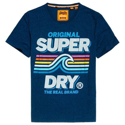 Camiseta-Para-Hombre-Malibu-Mid-Weight-Tee-Superdry