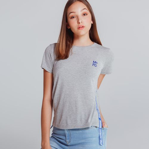 Camiseta-Manga-Corta-Para-Mujer-Marithe-Francois-Girbaud