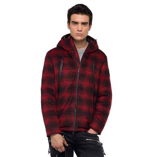 chaqueta-para-hombre-ripstop-hoodie-replay