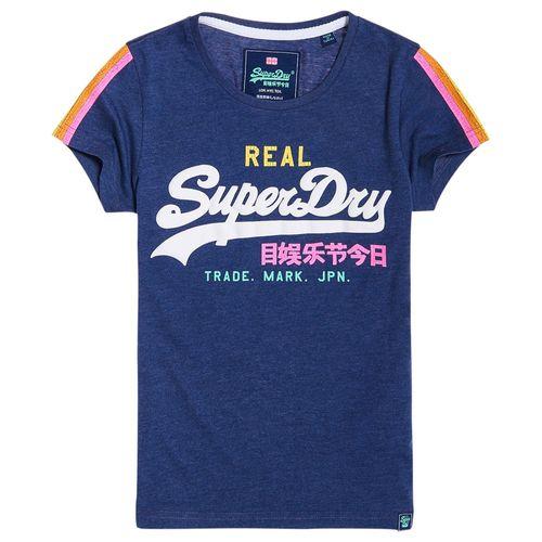 camiseta-para-Mujer-v-logo-sleeve-stripe-entry-tee-superdry