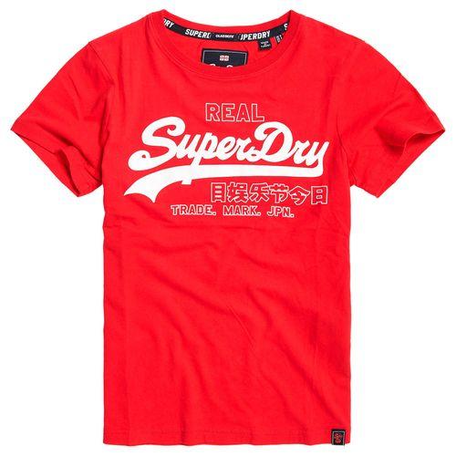 camiseta-para-Mujer-v-logo-code-shimmer-entry-tee-superdry