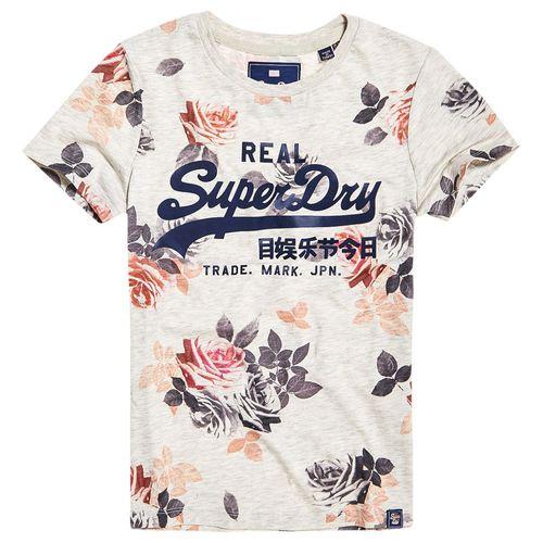 camiseta-para-Mujer-v-logo-photo-rose-aop-entry-tee-superdry