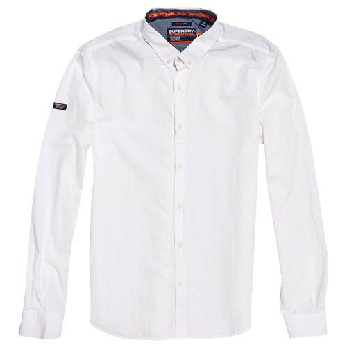 Superdry Classic University L//S Shirt Camisa para Hombre