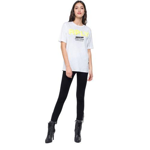 Camiseta-Para-Mujer-Light-Open-End-Jersey-Replay