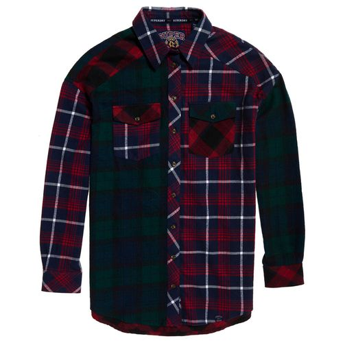 camisa-para-mujer-bailee-mixed-check-shirt-superdry
