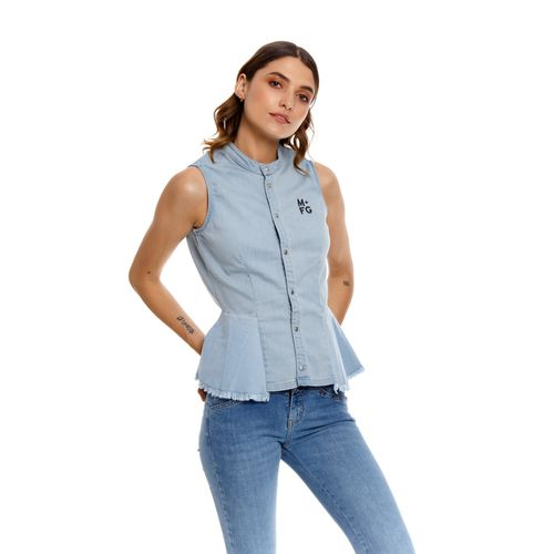 Camisa-Para-Mujer--Marithe-Francois-Girbaud
