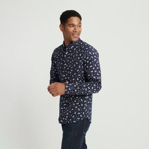 Camisa-Para-Hombre-Classic-Shoreditch-Print--Shirt-Superdry