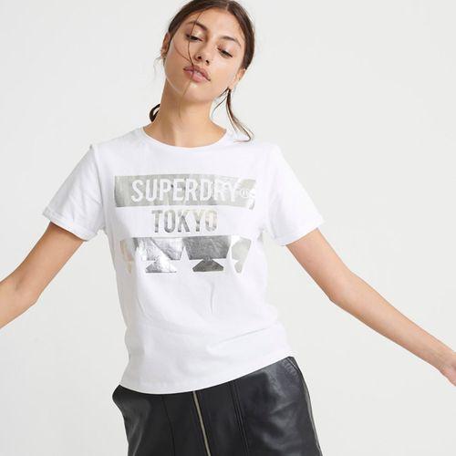 Camiseta-Para-Mujer-Tokyo-Stars-Boxy-Tee-Superdry