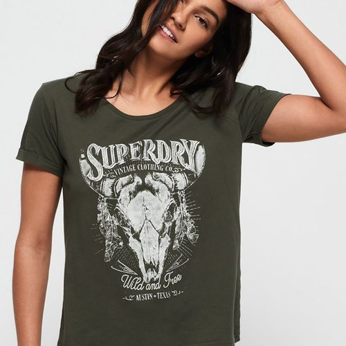 Camiseta-Para-Mujer-Vintage-Roadie-Tee-Superdry