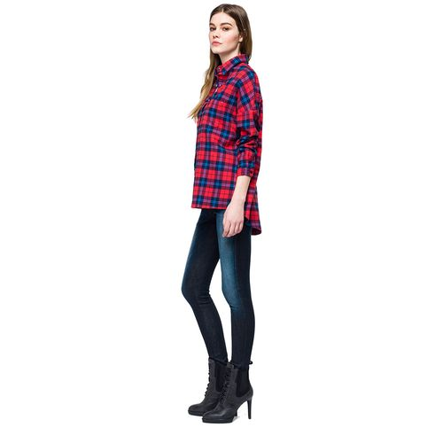 camisa-para-mujer-yarn-dyed-cotton-flannel-check-replay