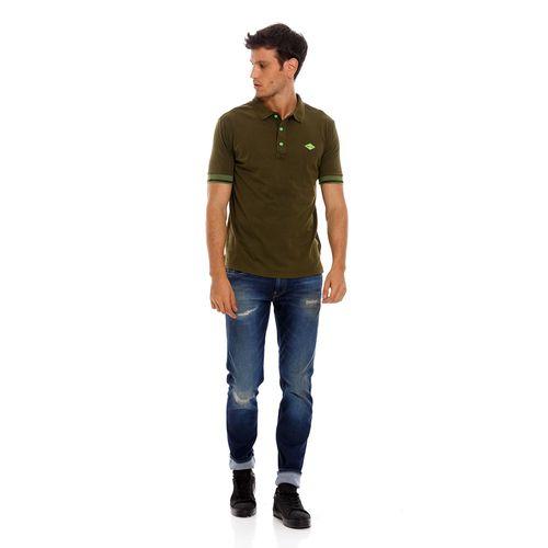 polo-para-hombre-cotton-jersey-replay