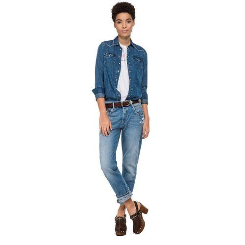 camisa-para-mujer-5-oz-cotton-silk-replay