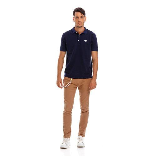 polo-para-hombre-garment-dyed-cotton-piquet-replay