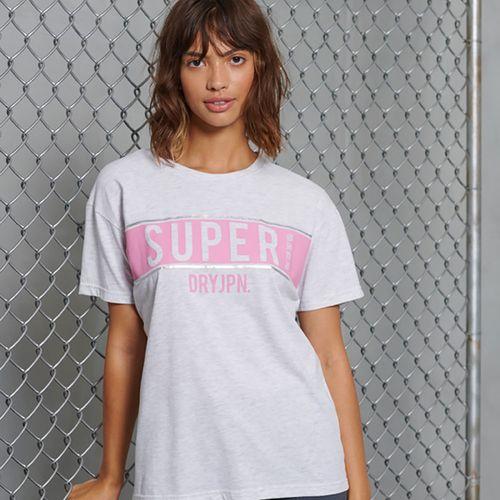 Camiseta-Para-Mujer-Sdry-Panel-Tee-Superdry