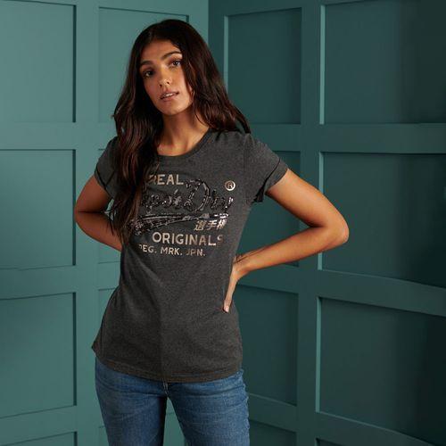 Camiseta-Para-Mujer-Script-Sequin-Tee-Superdry
