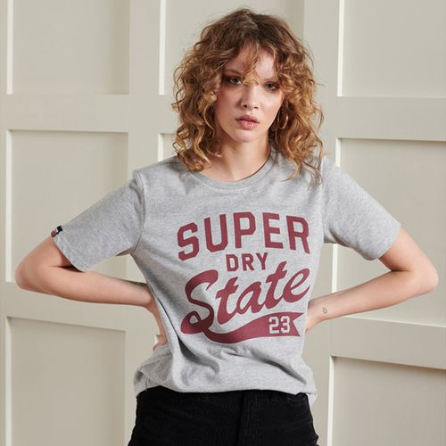 Camiseta-Para-Mujer-Varsity-3-Standard-Tee-Superdry