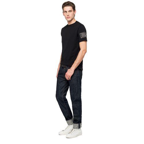 Camiseta-Para-Hombre-Compact-Cotton-Jerse-Replay