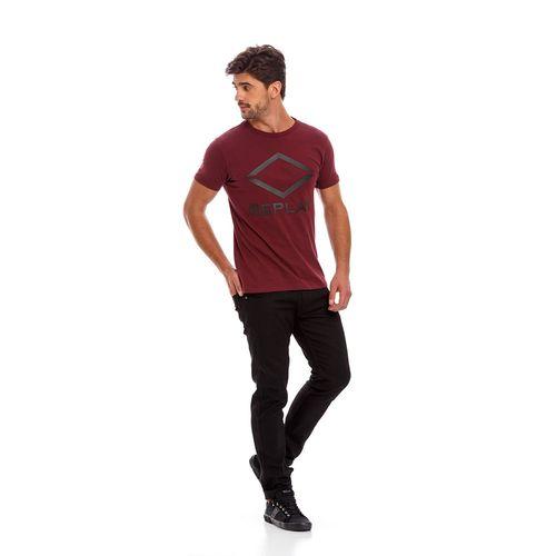 Camiseta-Para-Hombre-Piece-Dyed-Peach-Co-Replay