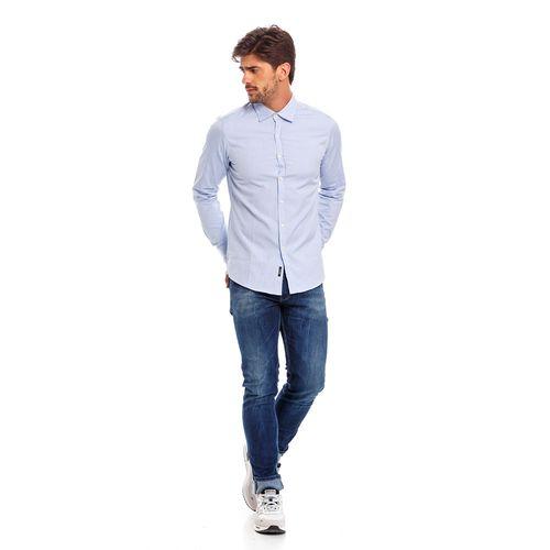 Camisa-Para-Hombre-Pin-Point-Replay
