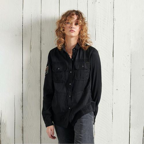Camisa-Para-Mujer-Military-Pocket-Shirt-Superdry