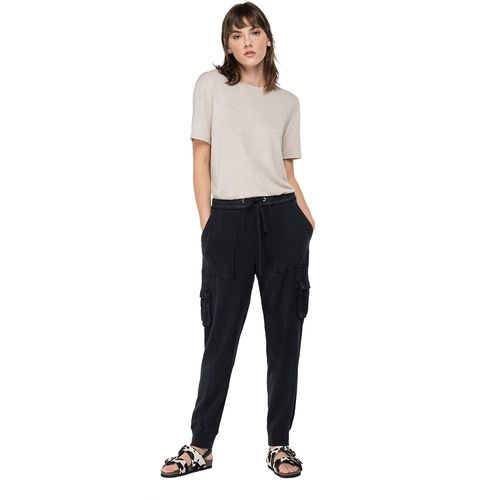 Sudadera-Para-Hombre-Garment-Dyed-Textured-Rayon-Linen-Tencel-Replay