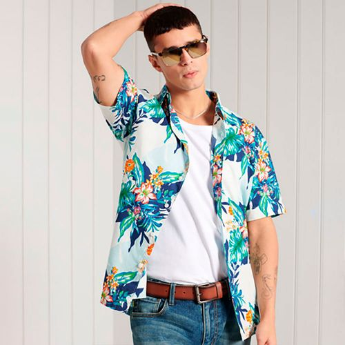 Camisa-Para-Hombre-Hawaiian-Shirt-Superdry